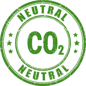 CO2 neutral Button